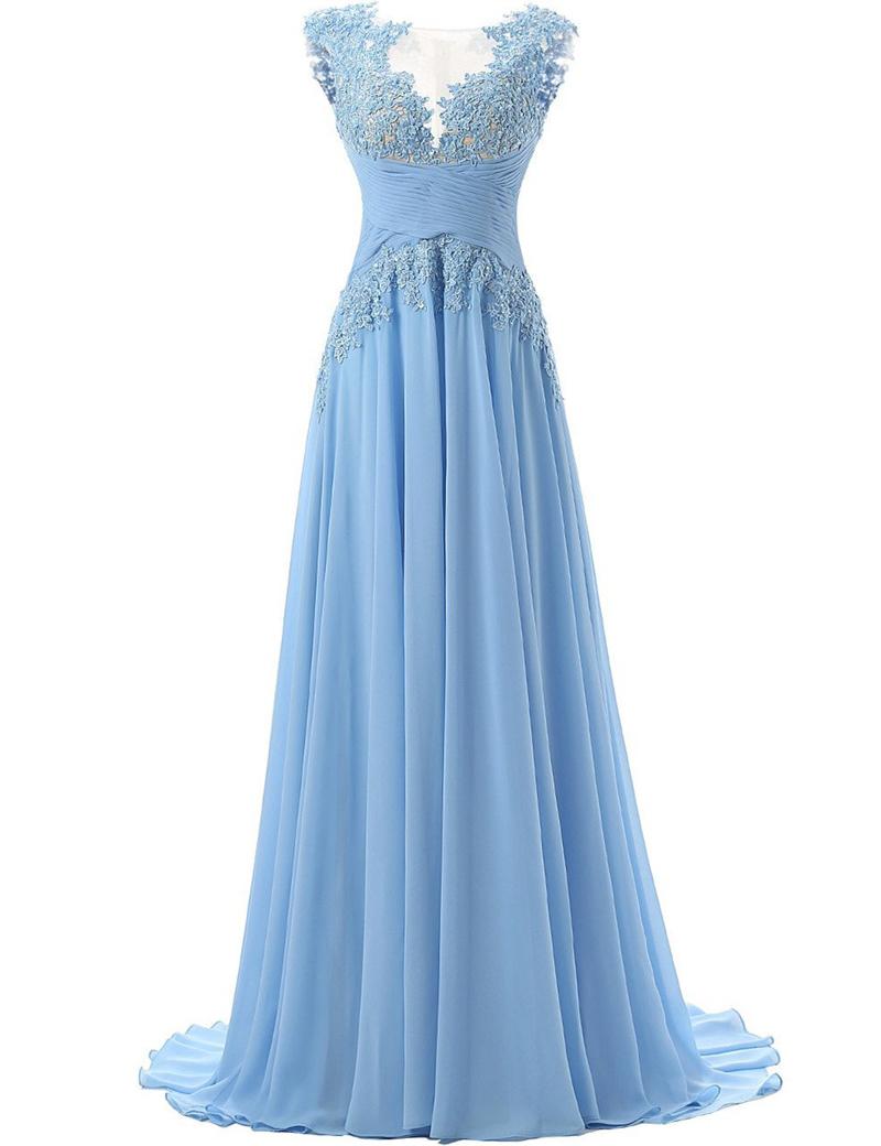 Charming A-Line Bateau Sleeveless Sequins Sweep Train Prom Dress with Beading фото