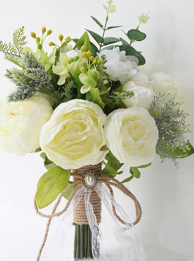 Emulation Peonies Bridal Bouquets/Bridesmaid Bouquets фото