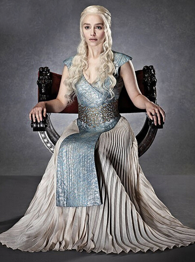 Game of Thrones Dragon Mother Cosplay Daenerys Targaryen, Picture color