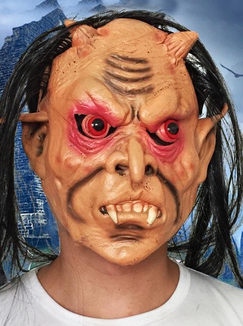 Halloween Terrorist Whimsy Buck Teeth Blam Red-eye-Ghost Include Masks Party фото