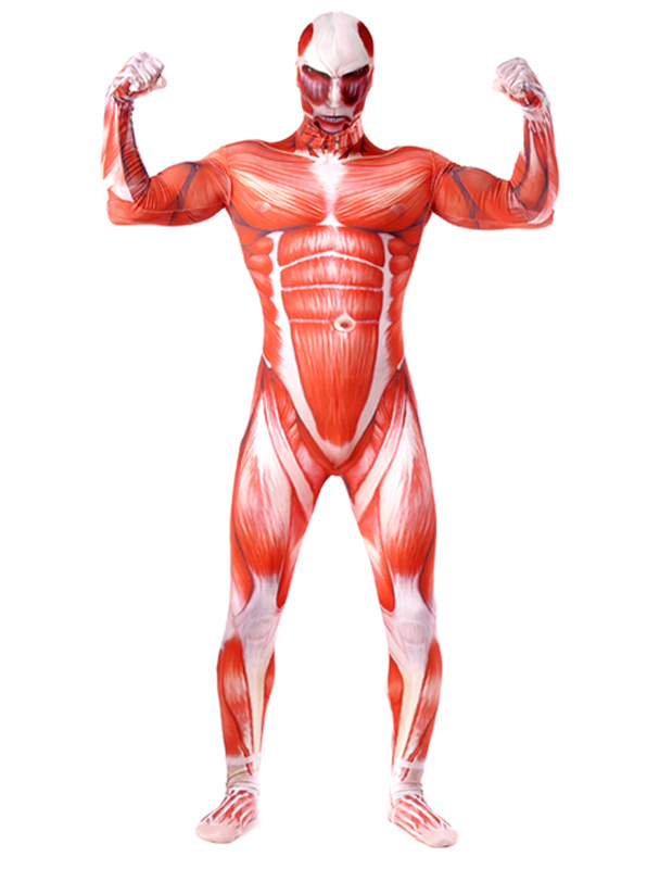Halloween Costume Hot Anime Attack on Titan Cosplay Accessory for Adults Spandex Jumpsuits фото