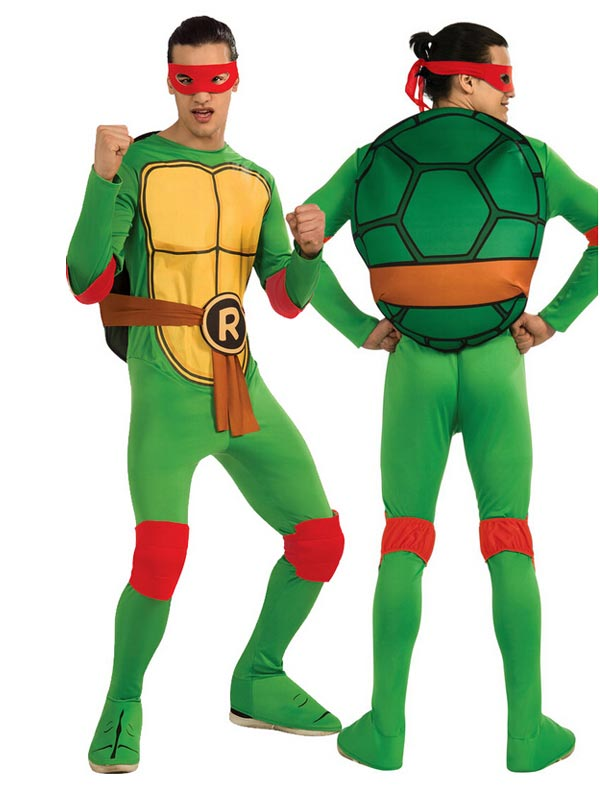 Hot-selling Nickelodeon Ninja Turtles Adult Michelangelo Costume and Accessories фото