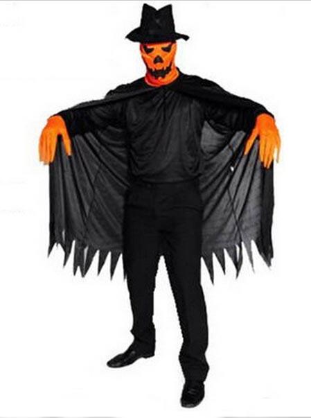 Halloween Horror Black Blame Cosplay Pumpkin фото