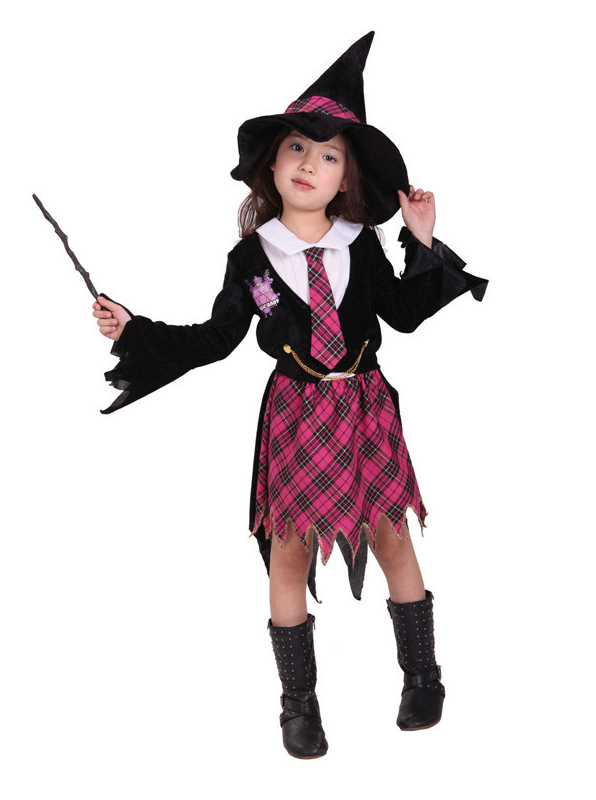 Girl Witch Costume Halloween Costumes, Red