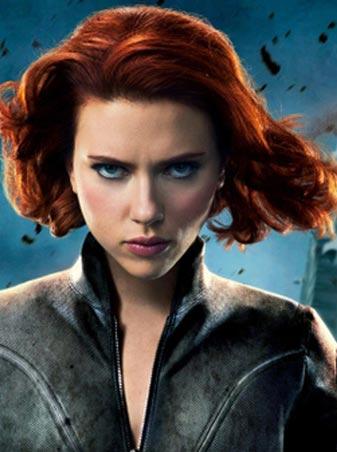 Avengers Natasha Romanoff Black Widow short curly Cosplay Wig Auburn фото