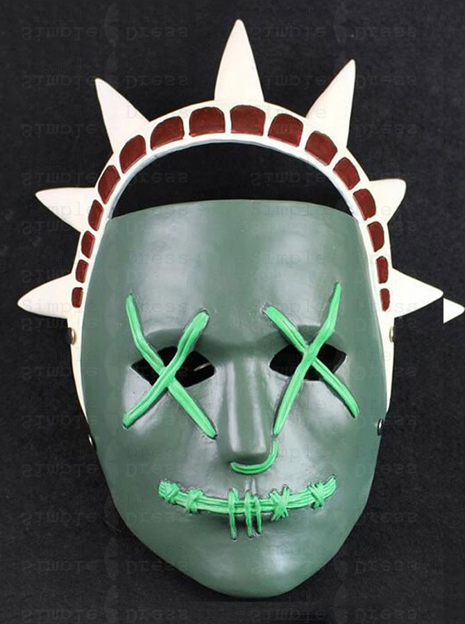 UK THE PURGE ELECTION YEAR MOVIE LIBERTY MASK FANCY DRESS UP HALLOWEEN COSPLAY 1