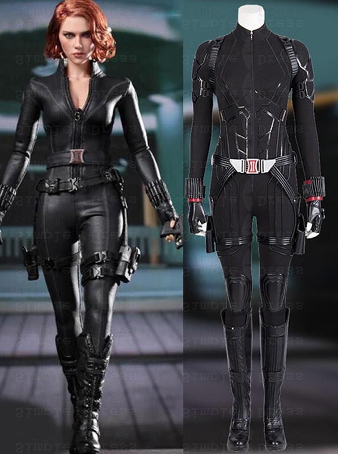 Endgame Avengers Black Widow Zentai Jumpsuit Battle Suit Cosplay Costume Cosplay Costumes 69 99 Simple Dress Com