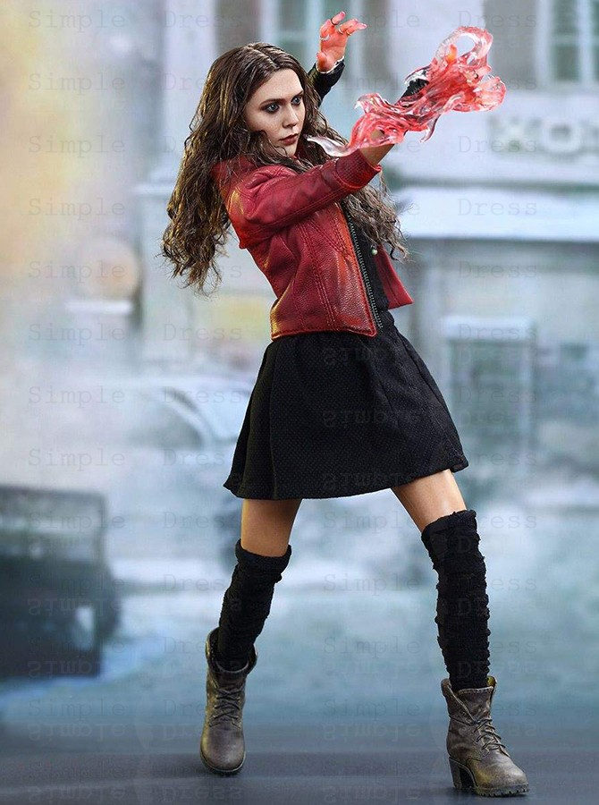 Marvel Avengers Scarlet Witch Cosplay Costume - Cosplay ...