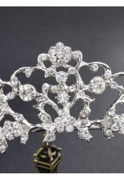 Ladies Luxury Alloy Tiara With Crystal