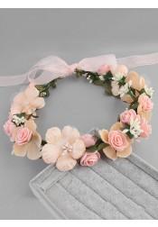 Beautiful Artificial Flower Girl's Head-wear/Flowers & Feathers