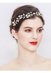 Multi Colors Alloy Wedding Accessory Bridal Headpiece