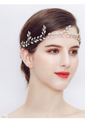 Bridal Headpieces Leaf Shape Wedding Accessory