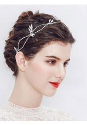 Stylish Silver Wedding Accessory Bridal Headpieces