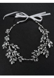 Silver Wedding Accessory Bridal Headpieces with Crystal
