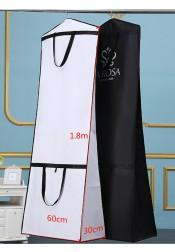 Bridal Gown Length Garment Bags with Handles