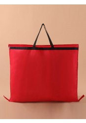 Red Non-woven Garment Bags with Handles
