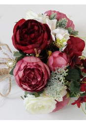 Free-Form Peonies Bridal Bouquets/Bridesmaid Bouquets