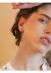 Simple Geometric Zinc Plated Alloy Earring
