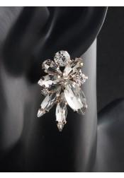 Beautiful and Cute Crystal Bridal Earrings