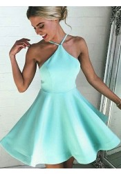 Sexy A-line Mint Green Short Homecoming Dress/Cocktail Dress