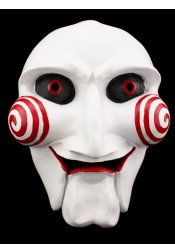 Jigsaw Puppet Mask Halloween Full Mask