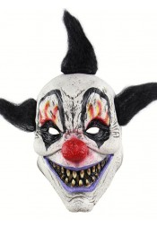 Funny Halloween Masks Creepy Smile Mask Clown Latex Halloween Mask