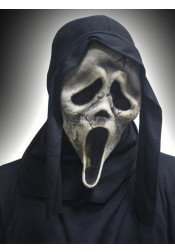 Ghost Scream Face Halloween Mask Scary Plastic Halloween Masks