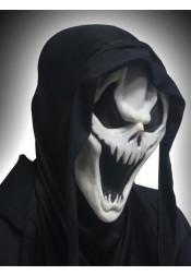 Super Horror Halloween Masks Ghost Face Halloween Mask White Plastic Mask