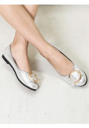 Women's Pump Plat Heels Silver Dance Party Shoes