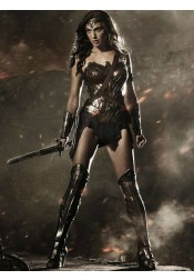 Wonder Woman Diana Cosplay Halloween Party Costume (Free Shipping)