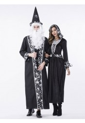 Halloween Couple Costume Royal Court Arabian Cosplay Costume Vampire Dress