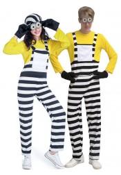 Adult Couples Halloween Costumes Unisex Minion Cartoon Characters Movie Jumpsuit Cosplay Costume
