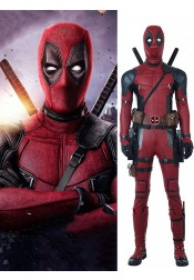 Marvel Deadpool 2 Wade Wilson Cosplay Costume
