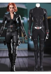 Endgame Avengers Black Widow Zentai Jumpsuit Battle Suit Cosplay Costume