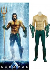 Aquaman Costume Cosplay Halloween Costume