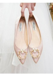Plat Heels Women's Party Shoes Bridal Shoes