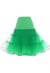 Vintage 50s Rockabilly Crinoline Tutu Skirt Petticoat Bridal Slip