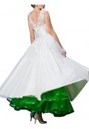 Womens Ankle Length Bridal Wedding Petticoats Formal Dress Slips