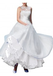 Womens Ankle Length Bridal Wedding Petticoats Formal Dress Slips