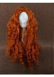 Brave Brave Merida Orange Large Wigs