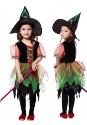 Kid Halloween Witch Costumes Cosplay Costumes