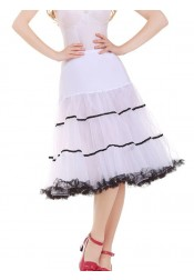 Women's Vintage 1950s Puffy Rockabilly Petticoats Tulle Slips