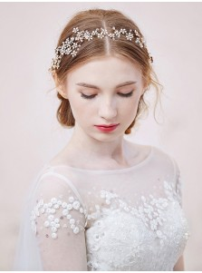 Ladies Unique Crystal Alloy Headpieces