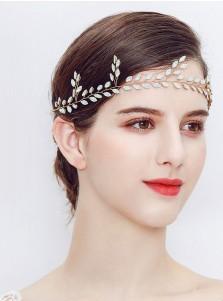 Bridal Headpieces Leaf Shape Wedding Accessory