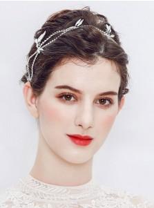 Stylish Silver Wedding Accessory Bridal Headpieces
