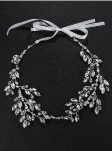 Silver Wedding Accessory Bridal Headpieces with Crystal