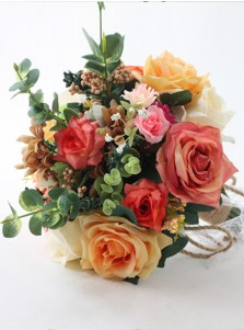 Free-Form Multi-Color Bridal Bouquets/Bridesmaid Bouquets