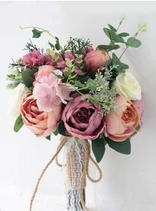 Emulation Succulent Plant Bridesmaid Bouquets