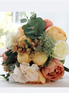 Pretty Peonies Bridal Bouquets/Bridesmaid Bouquets