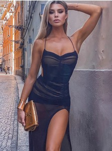 Sexy Dress With Backless Fashion Style